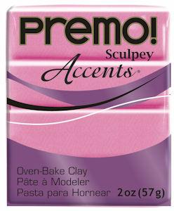 premo! Sculpey -- Magenta Pearl -- 2 oz