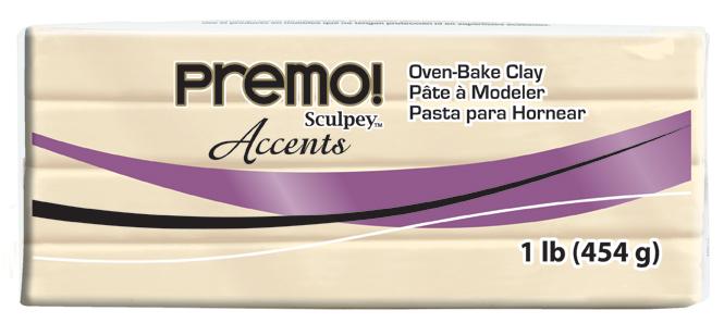 premo! Sculpey -- Translucent -- 1 lb