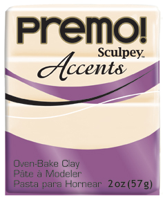 premo! Sculpey -- Translucent -- 2 oz