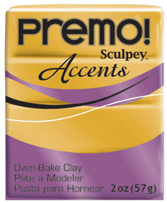 premo! Sculpey -- 18K Gold -- 2 oz