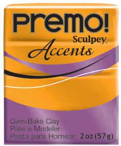 premo! Sculpey -- Gold -- 2 oz