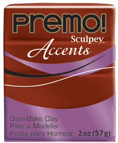 premo! Sculpey -- Bronze -- 2 oz