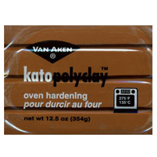 Kato Polyclay 12.5 oz Brown