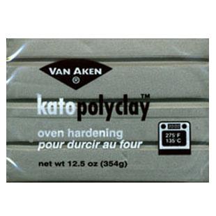 Kato Polyclay 12.5 oz Silver