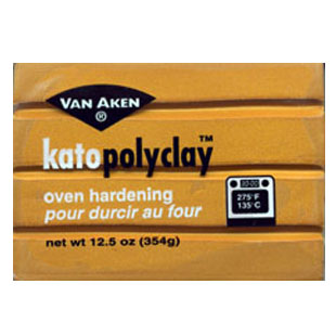 Kato Polyclay 12.5 oz Gold