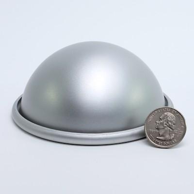 """Aluminum Hemisphere 3-1/2"""" diameter"""
