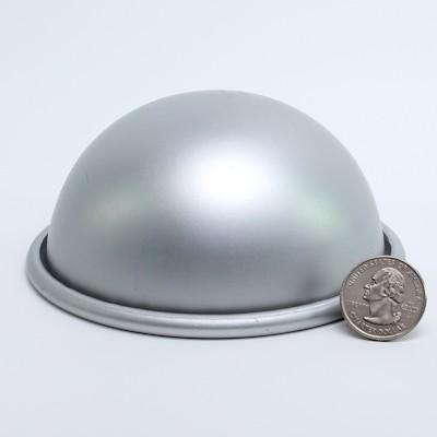 """Aluminum Hemisphere 4"""" diameter"""