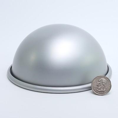 """Aluminum Hemisphere 5"""" diameter"""
