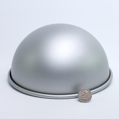 """Aluminum Hemisphere 8"""" diameter"""
