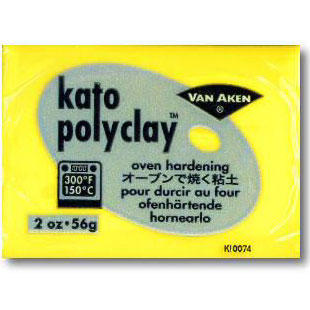 Kato Polyclay 2 oz Yellow