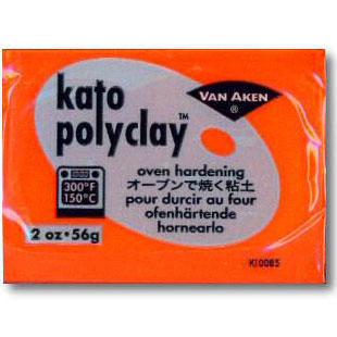 Kato Polyclay 2 oz Orange