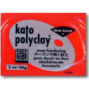Kato Polyclay 2 oz Red