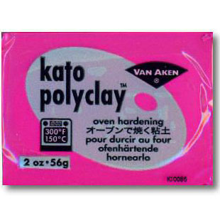 Kato Polyclay 2 oz Magenta