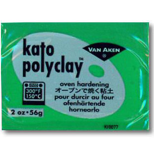 Kato Polyclay 2 oz Green
