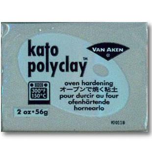 Kato Polyclay 2 oz Silver