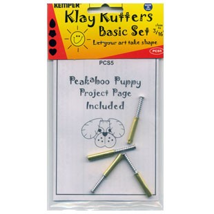 """Kemper PCS5 3/16"""" Clay Cutter Set"""