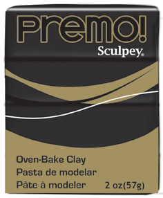 premo! Sculpey -- Black -- 2 oz