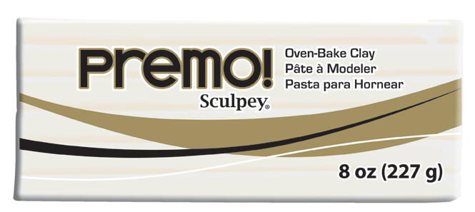 premo! Sculpey -- White -- 8 oz
